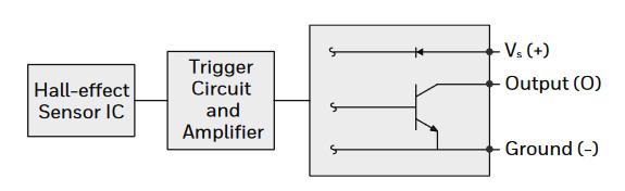 hall-effect circuit diagram